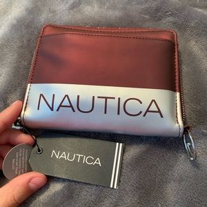 Nautica wallet with tags and RFID PROTECTION
